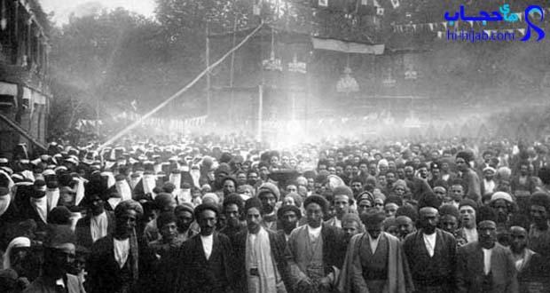 تاریخچه حجاب در ایران _ مشروطه