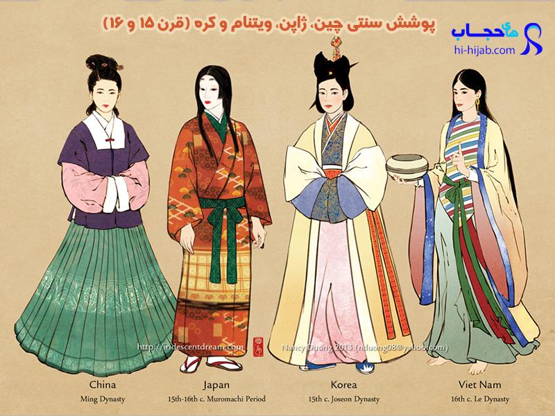 تاریخچه حجاب در آسیا
