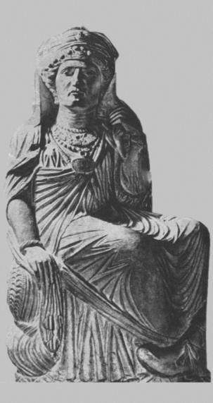 تاریخچه-حجاب-در-ایران-باستان-اشکانیان-پارت-پالمیرا-4-hi-hijab.com