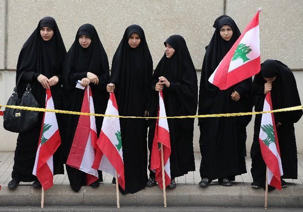 حجاب-در-لبنان-چادر-لبنانی