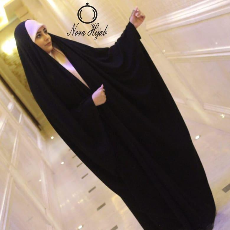 حجاب-زیبا-چادر-عربی