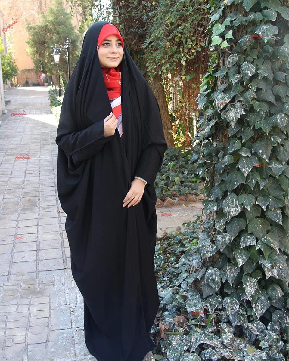 حجاب-زیبا-چادر-لبنانی