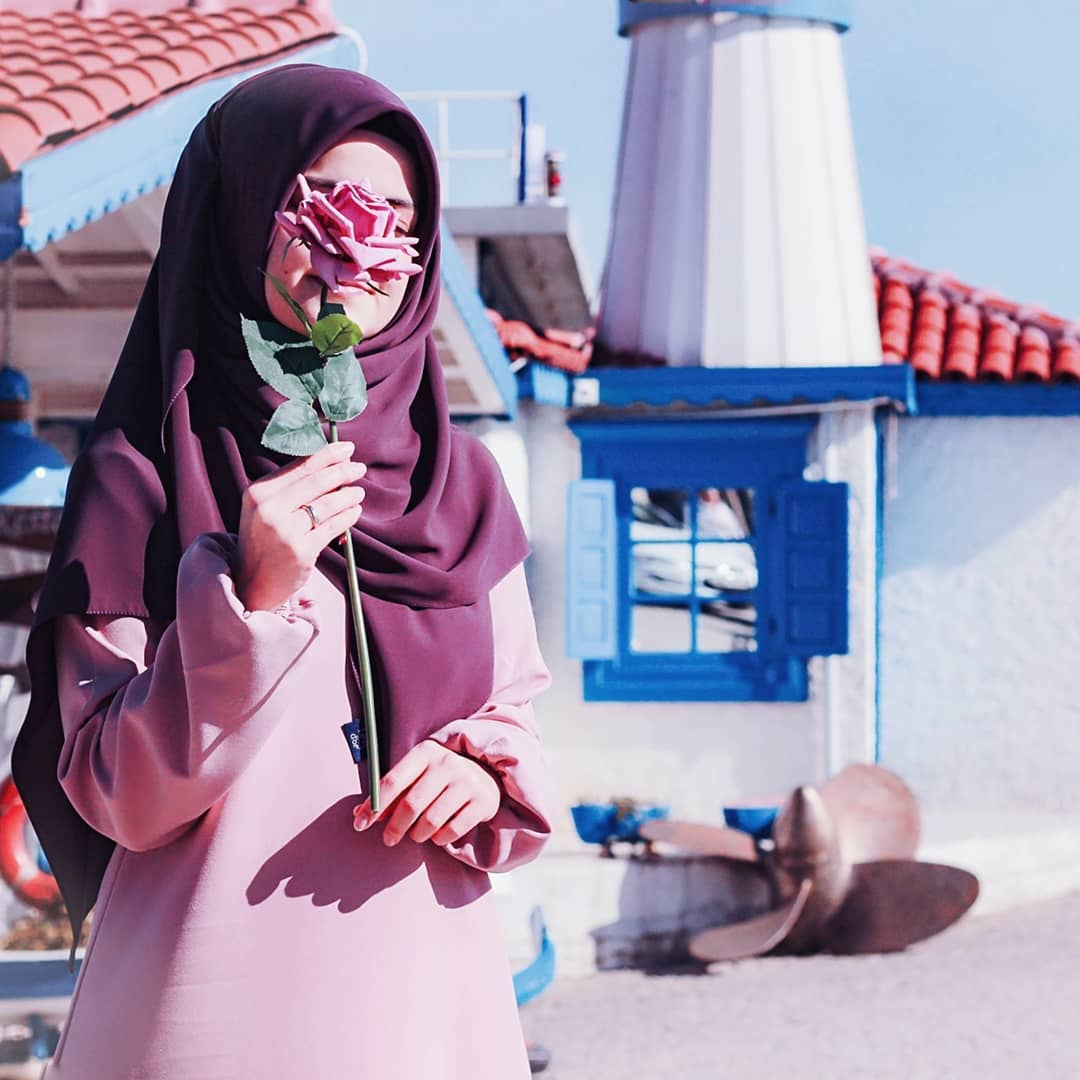 حجاب-زیبا-یاسی-بنفش