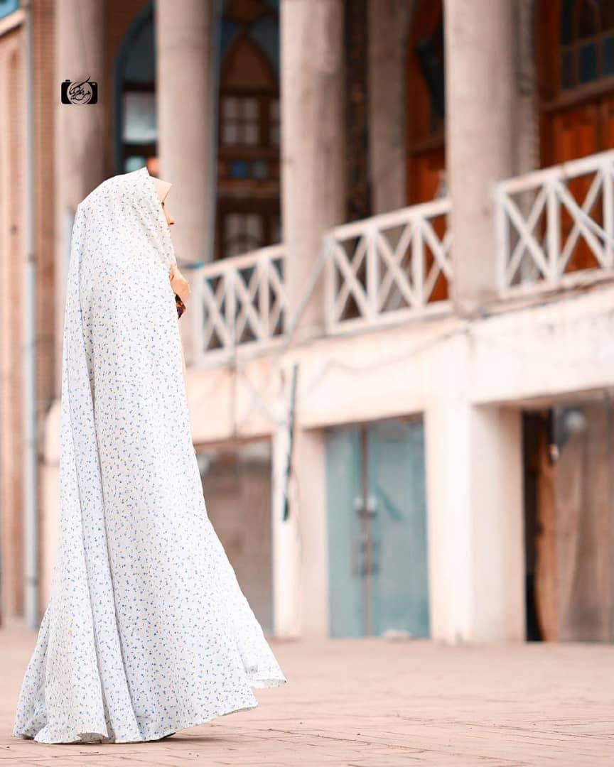 عکس-حجاب-چادر-سفید-چادر-نماز