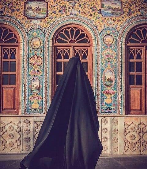 چادر-ساده-ایرانی