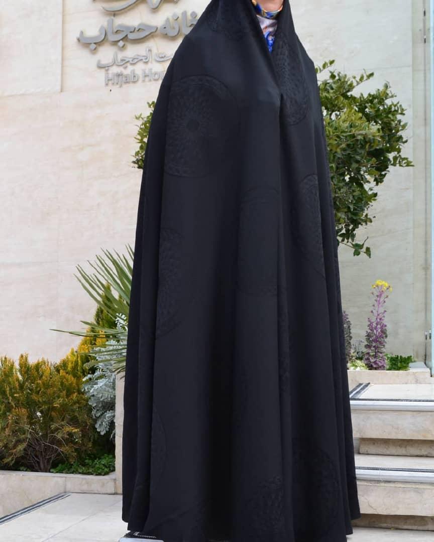 چادر-ساده-طرحدار-ایرانی