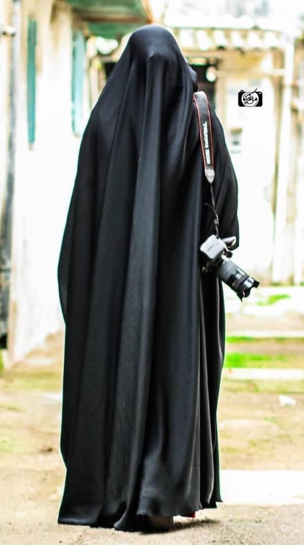 چادر-عربی-اصیل-نمای-پشت-چادر