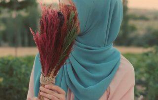 عکس دختر باحجاب