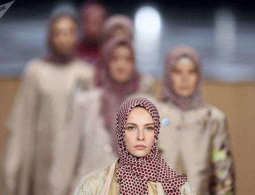 عکس: فشن شوی حجاب در روسیه