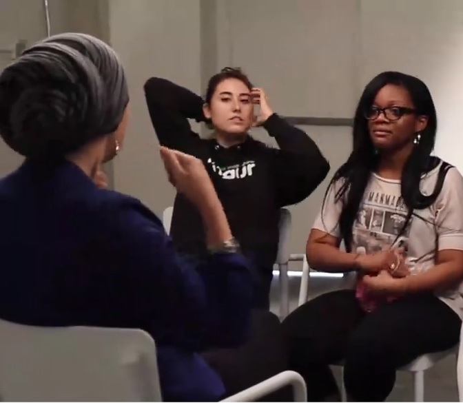 فیلم حجاب - یک روز باحجاب -hi-hijab