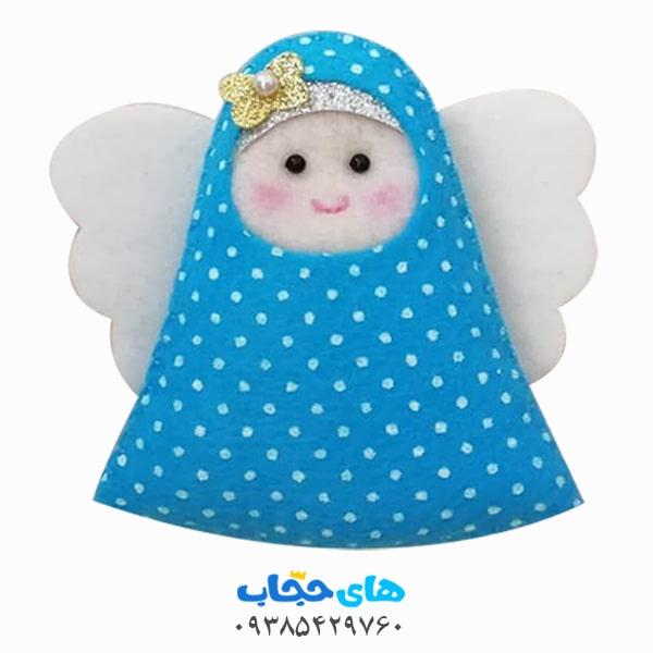 عروسک نمدی باحجاب