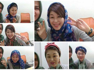 حجاب در ژاپن